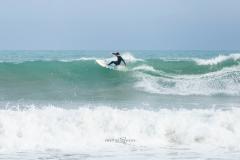 Playa de Cala Millor. Surf